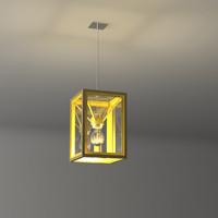 end ceiling light fixture 3d max