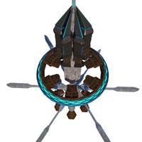 alien space orbital max
