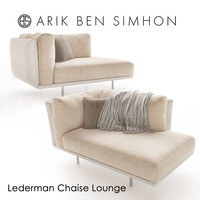 lederman chaise lounge arik obj