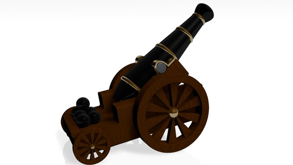 medieval cannon 3ds