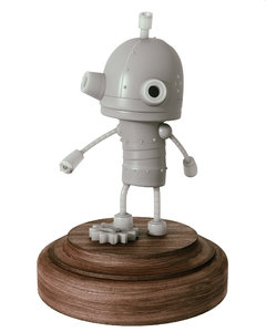 3d model robot josef machinarium
