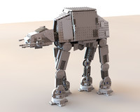 3ds imperial at-at walker