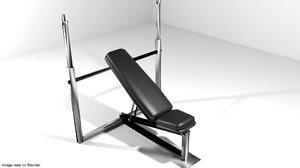 lightwave exercise bench