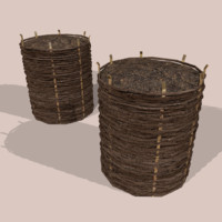 Wicker Barrier