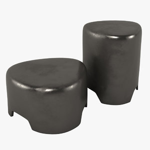 pebble tables obj