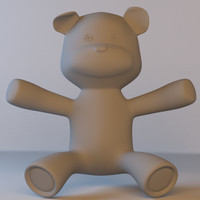 3d max toy bear