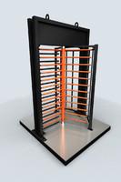 3d rotative gate