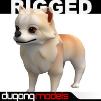 Rigged Cartoon Dog
