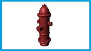 hydrant robot buy 3d model