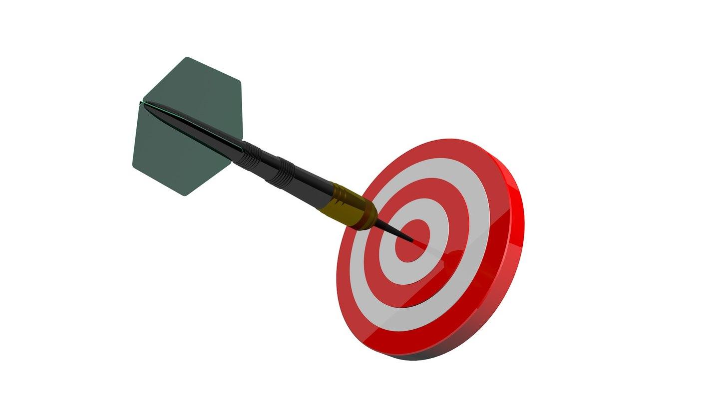 3d target darts
