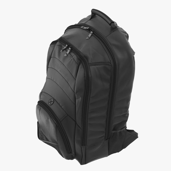 3d backpack generic model
