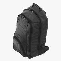 3d backpack generic model