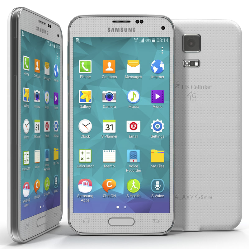 samsung galaxy s5 mini 3d model