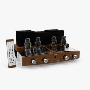 3d tube amplifier sinfonia