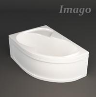 3d model bath imago