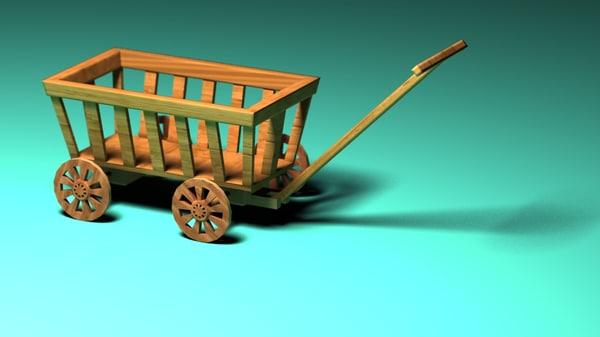 3dsmax handcart
