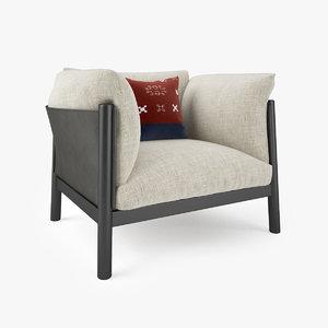 padova yak armchair max