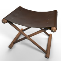 max leather stool