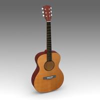 guitar musical instruments 3d x