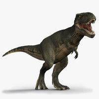 Tyrannosaurus Rex (2) (Rigged)