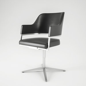 3d model executive meeting chair