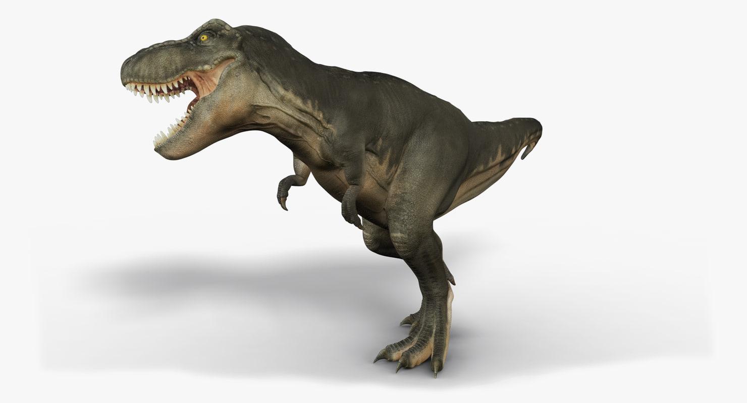 tyrannosaurus rex trex animation 3d ma
