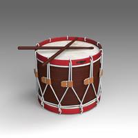 3d drum musical instruments