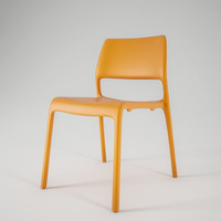 contemporary meeting dining chair 3d obj