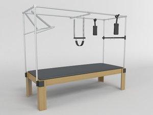 pilates table obj