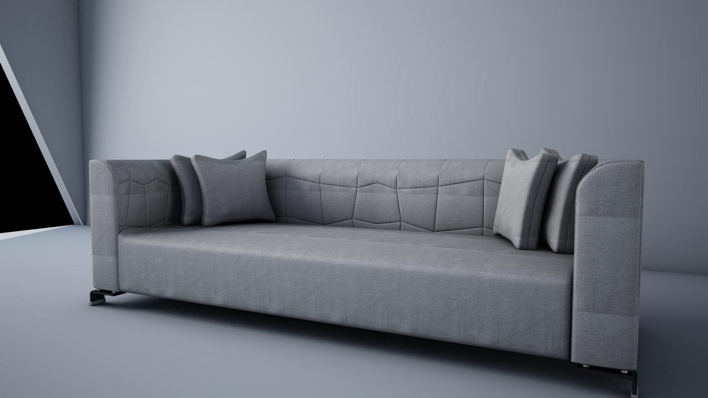 3ds max 2015 sofa