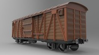 3d max cargo carriage