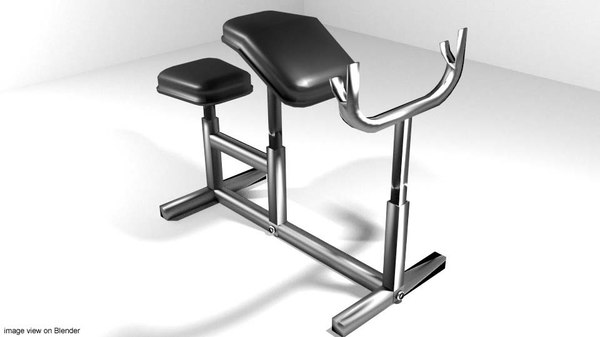 exercise armcurl 3ds