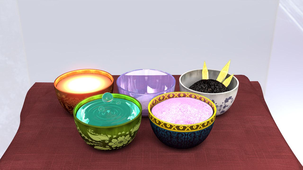 3dsmax bowl enchant