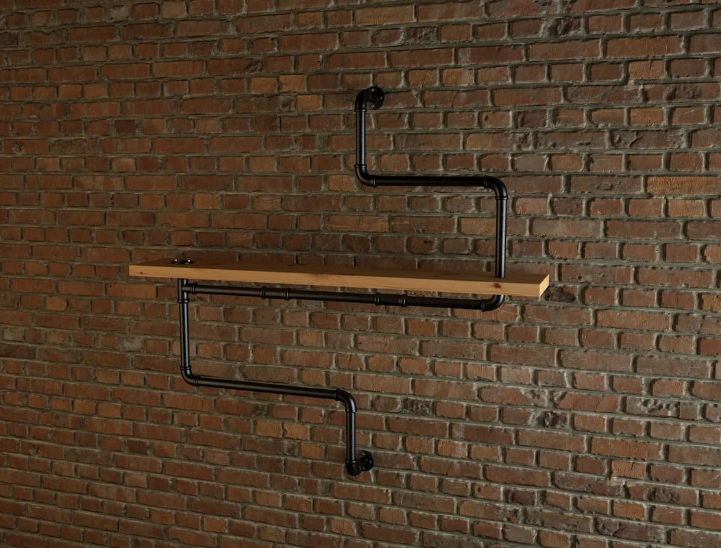 pipe shelves max free
