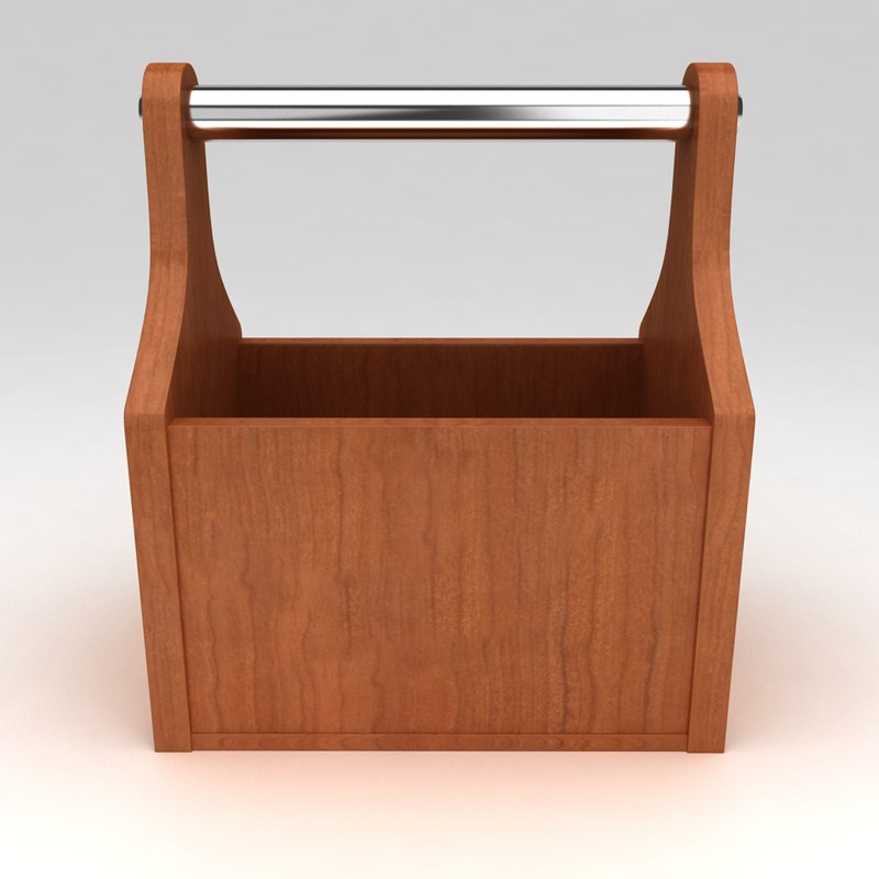 tool box portable 3 3d model