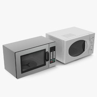 generic microwave ovens collectiion 3ds