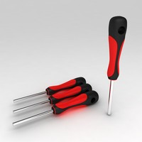 3d hex key tool model