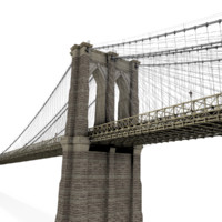 3ds max brooklyn bridge