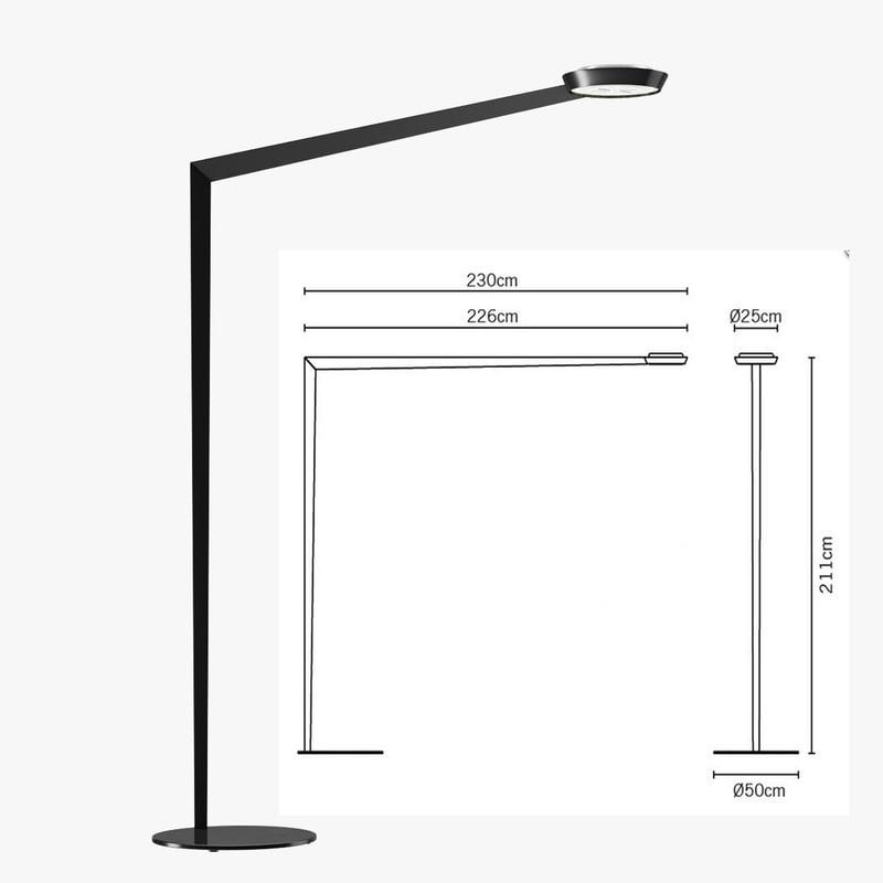 3d model floor lamp fabbian f05c0102