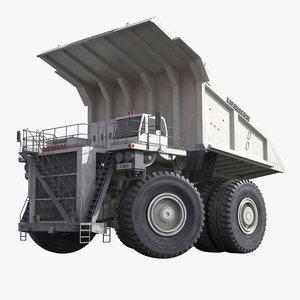 heavy duty mining truck 3d max