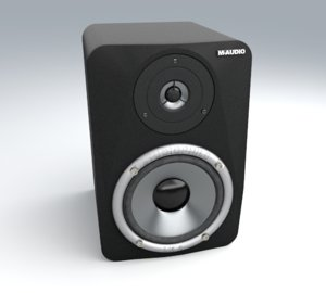 bookshelf speaker m-audio lx4 max