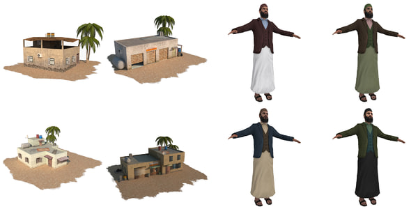 max arab house man pack