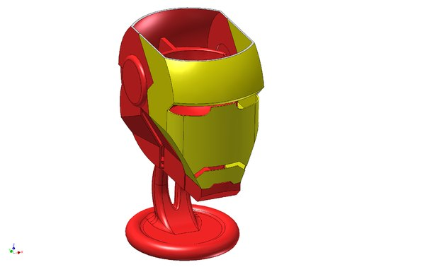 egg cup iron man 3d 3ds