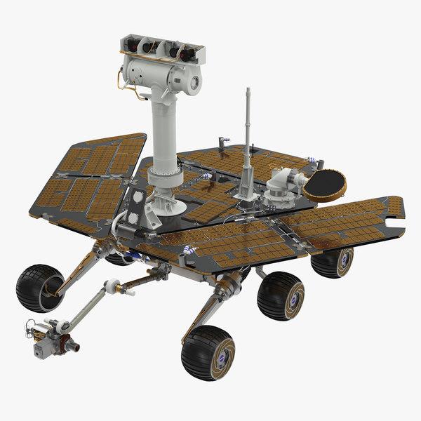 3d model opportunity rover