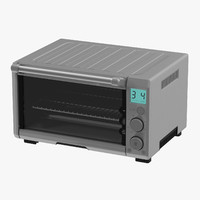 3d model toaster oven