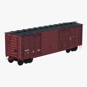 3d box car