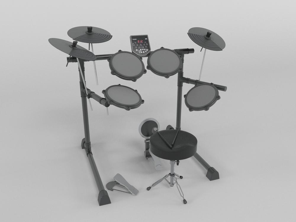 drum electronic obj