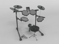 drum electronic obj