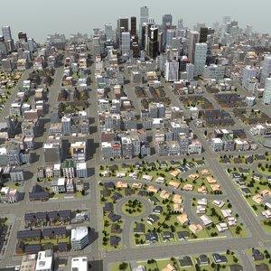 3d huge city rt