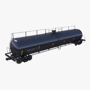 3d c4d tanker car